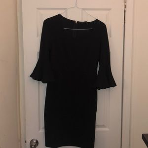 Donna Karan Bell Sleeve dress new with tags